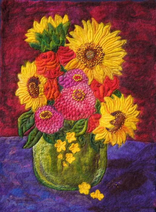 FeltedSunflowers