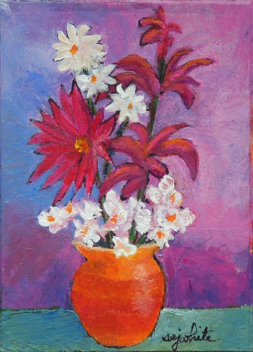 Artist Trading Card – Flowers #2