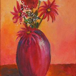 Artist Trading Card – Flowers #3