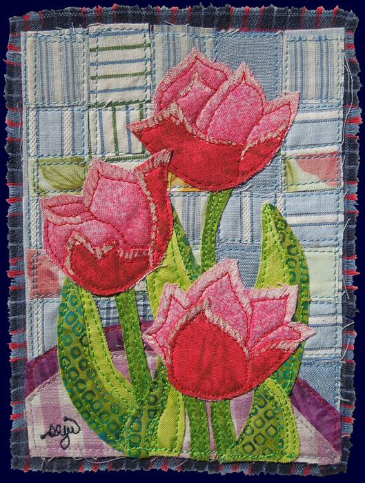 Mini Tulips card