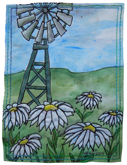 Windmill card
