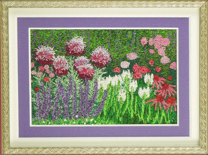Embroidered Flowers