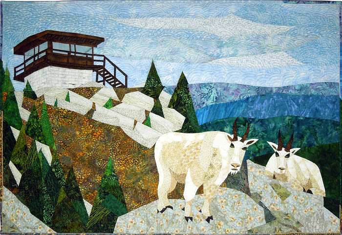 Black Mountain Goats quilt