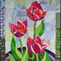 Penny's Tulips, quilt