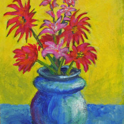 Artist Trading Card – Flowers #1