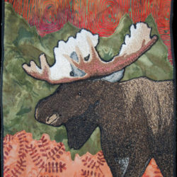 Embroidered Moose